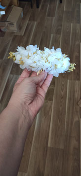 Tocado flor preservada Nerea