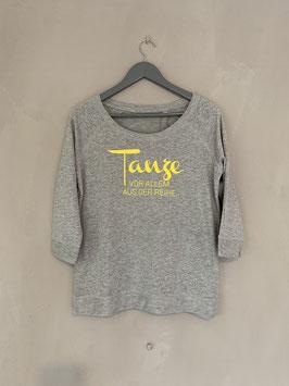 Tanze Organic Sweatshirt grau