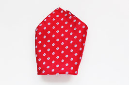 Pañuelo Flores rojo