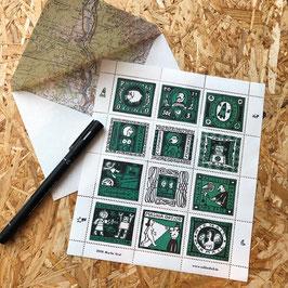 Astro-Briefmarken