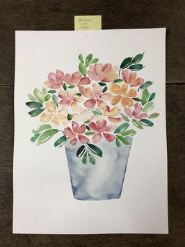 "Aquarelle ""Blumen"" I"