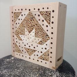 Wildbienenhaus-Modul