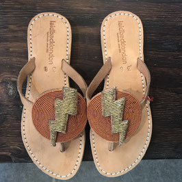 Blitz Flat Leather Sandal