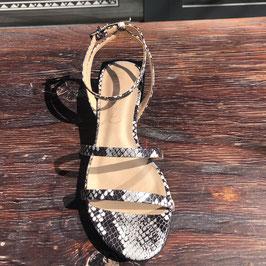 vicenza heels snake dark grey