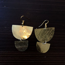 Handmade Gold Earrings