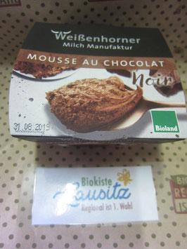 Weißenhorner Bio Mousse au Chocolat Noir 80g