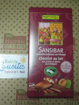 Rapunzel Bio Schokolade Sansibar 80g
