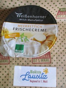 Bio Frischkäse Meerrettichcreme 150g (Weißenhorner)