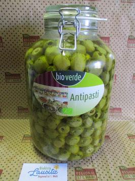 Bio-verde Bio grüne Oliven ohne Stein 4.55 kg im Thekenglas
