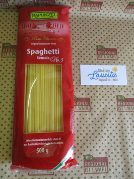 Rapunzel Bio Spaghetti No. 5 hell 500g