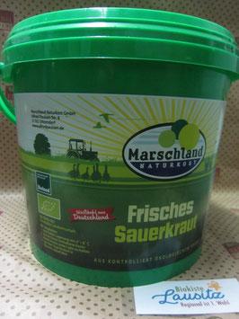 Bio Frisch-Sauerkraut 5 kg Eimer