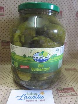 Bio Gurkentopf 1,55 kg Glas