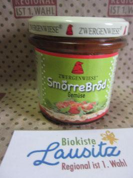 Zwergenwiese Bio Aufstrich Smörre Bröd Gemüse 140g