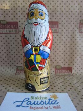 Rosengarten Bio Weihnachtsmann Staniol Vollmilch 50g