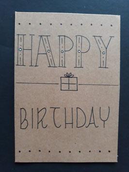 Happy Birthday cadeautje