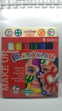 Silky Make Up 6 Farben