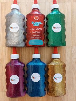 Glitter Glue 6 Farben