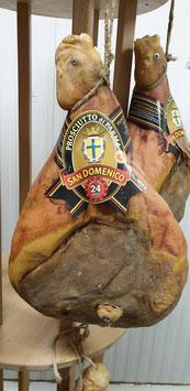 Prosciutto di Parma DOP 24 mesi, intero con osso - Parma Ham 24 months aged, entire with bone