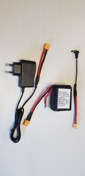 Li-ion batterij + lader