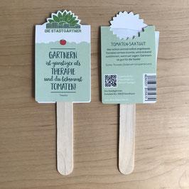 Saatgrüße - Gärtnern ist günstiger Therapie
