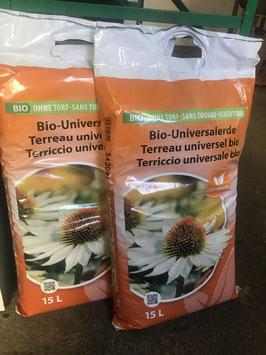 Bio Blumenerde - ökohum Bio-Universalerde 15 Liter
