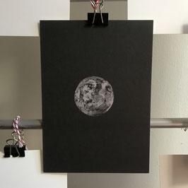 Postkarte - Mond