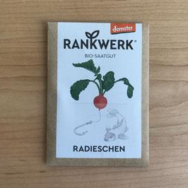 """Rankwerk Saatgut - Radieschen """"Rudi"""""""