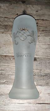 ultimativ bayrisches Weißbierglasl (iced)