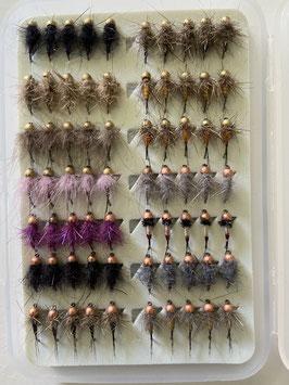 BOX 70 FliegenNymphenGrösse 14