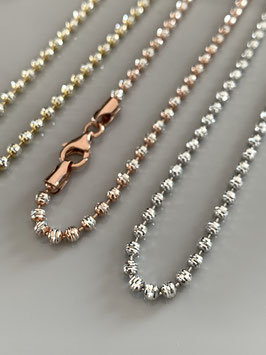 """Sparkling necklace """"Sparkle mini"""" made of sterling silver with lobster clasp"""