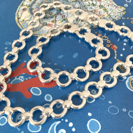 """Collier silber """"Milano"""" - mit Federring"""