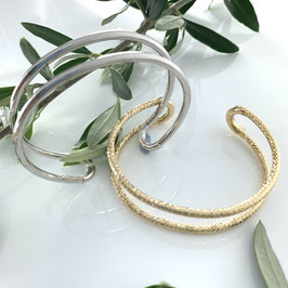"Airy silver bracelet ""You"""