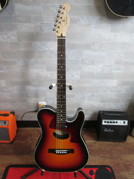 Fender Telecoustic Deluxe (2008年製)サンバースト