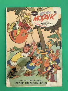 Original Mosaik der Digedags Fehldruck Nummer 20