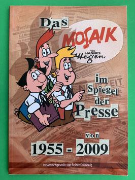 Buch das Mosaik im Spiegel der Presse Reiner Grünberg 2009 sehr gut erhalten