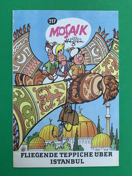 Original Mosaik der Digedags Exportheft Nummer 217