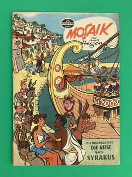 Original Mosaik der Digedags Fehldruck Nummer 23
