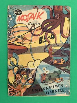 Original Mosaik der Digedags Fehldruck Nummer 31