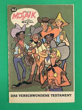 Original Mosaik der Digedags Fehldruck Nummer 162