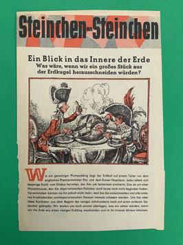 Original Mosaik der Digedags Fehldruck Beilage Nummer 51