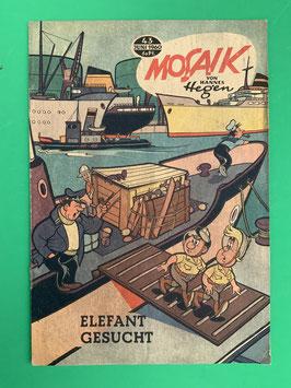 Original Mosaik der Digedags Fehldruck Nummer 43