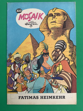 Original Mosaik der Digedags Fehldruck Nummer 223