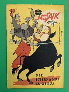 Original Mosaik der Digedags Fehldruck Nummer 93
