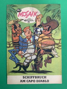 Original Mosaik der DIgedags Fehldruck Nummer 197