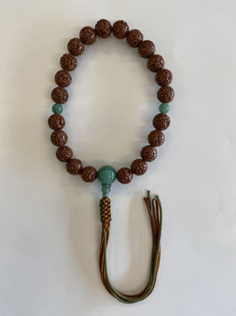 金剛菩提樹 印度翡翠 浄土真宗用 本式数珠