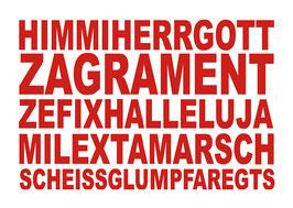 Postkarte: HIMMIHERRGOTT
