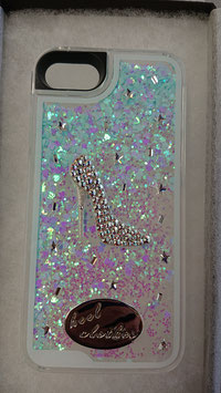 """ Heelclothes Special IPhone case for iPhone6S and 7 and 8 models Swarovski Crystal """