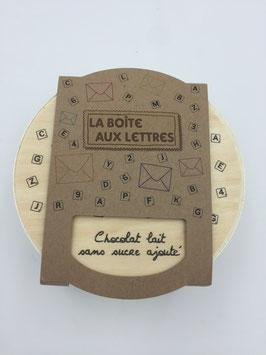 Boîte aux Lettres - Chocolat au lait sans sucre ajouté
