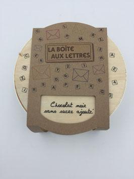 Boîte aux Lettres - Chocolat noir sans sucre ajouté