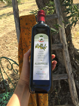 6 bottiglie da 750 ml. di Olio Extra Vergine di Oliva Alamprese